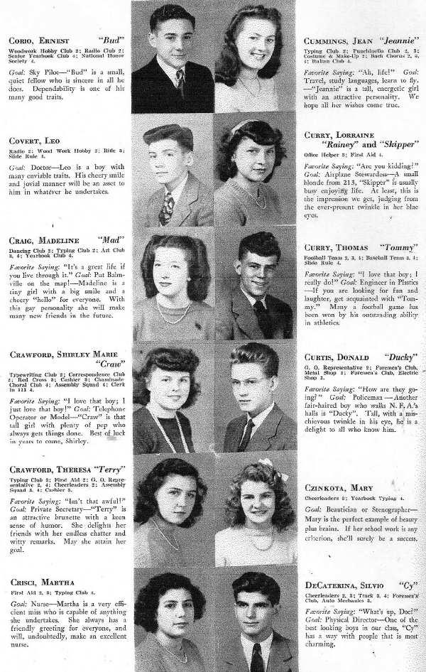 1945 NFA Yearbook